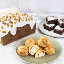 Cake Inglés + Mini bocaditos
