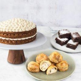 Torta mediana + mini bocaditos